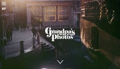 """""""Grandpa's Photos"""" Site Helps Identify A Grandfather's Photography Locations 