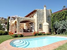 Secluded Crete, Greece Villa with Private Pool and Garden. #homeaway