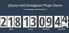 When building a coming soon or event page, you find yourself in search for a good way to display the remaining time. Countdowns can be a great way to build up anticipation when launching a new website or web application; it gives users a clear indication of how long they need to wait before they can get access to your site. A countdown gives the feel of urgency, and combined with an email field will yield more signups for your newsletter. In this article we have amassed a list of 15 Best…