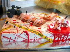 These Dexter-Themed Desserts are Deliciously Graphic trendhunter.com
