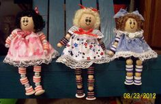 Button dolls by KarolsKollectibles on Etsy, $12.00