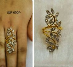 Mens Gold Jewelry, Gold Rings Jewelry, Jewelry Design Earrings, Gold Earrings Designs, Beautiful Gold Rings, Gold Ring Designs, Unique Diamond Rings, Fashion Rings, Hyderabadi Jewelry