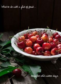 What to do with a glut of summer fruit