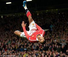 ~ Nani on Manchester United goal celebration ~