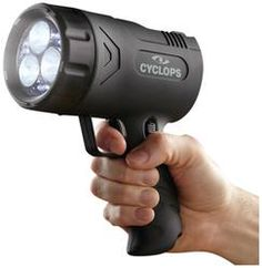 Rechargeable Handheld Spotlight