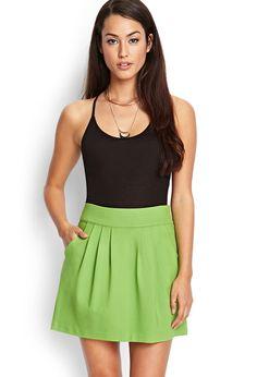 Stretch Knit Pocket Skirt - Women - 2000087888 - Forever 21 UK