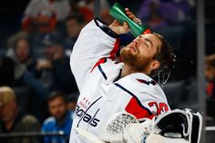 Photo galleries featuring the best action shots from NHL game action. Usa Hockey, Hockey Baby, Hockey Teams, Washington Capitals Hockey, Braden Holtby, Barclays Center, Nhl Games, New York Islanders, City Photo