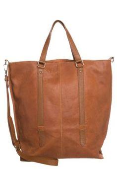 Shopping bag - warm brown