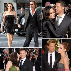 Angelina Jolie and Brad Pitt Angelina Jolie Style, Brad Pitt And Angelina Jolie, Jolie Pitt, Celebrity Couples, Celebrity Gossip, Celebrity News, Angelina Jolie Engagement Ring, Bard Pitt, Brad And Angie