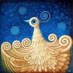 Birth of Golden Bird IX by FrodoK.deviantart.com on @DeviantArt