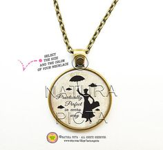 Mary Poppins Practically Perfect quote by naturapicta on Etsy © NATURA PICTA All Rights Reserved
