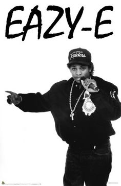 Born: September 1964 - Died: March 1995 ~ Eric Wright, better known by his stage name Eazy-E, was an American rapper, record producer, and entrepreneur. Cause of death: Several infections in the immune system induced by AIDS 90s Hip Hop, Hip Hop Rap, Hip Hop Outfits, Hipster Outfits, Eazy E Quotes, Straight Outta Compton, Brooklyn, American Rappers, Hip Hop Artists