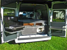 Ford Transit Connect Conversion to Camper Van