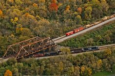 CSX and Norfolk Southern Over-Under in Chillicothe, Ohio by Brandon Townley - www.brandontproductions.com, via Flickr