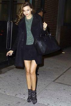 Miranda Kerr autumn style