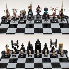 Lego Star Wars Chess!!!