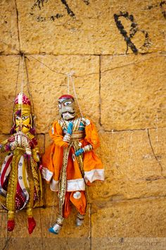 Puppet Toys in Rajasthan, India