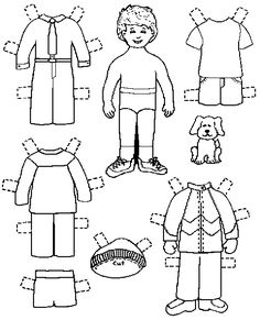paper doll template My Own Printable Paperdolls I've made three paper dolls with . Paper Dolls Clothing, Paper Clothes, Paper Doll Template, Paper Dolls Printable, Coloring Sheets, Coloring Books, Coloring Pages, Paper Mache Crafts, Operation Christmas Child