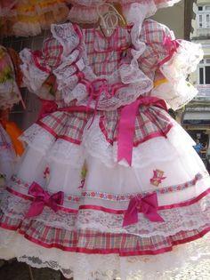 Vestidos para Festa Junina, Caipira,