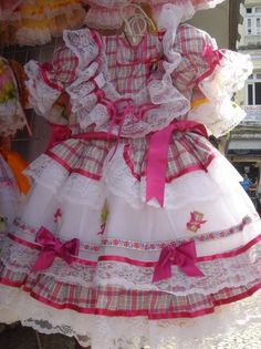 Vestidos para Festa Junina, Caipira, Infantil e Adulto
