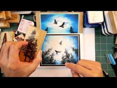 Stampscapes 101: Video 151.  Eagles in the Light