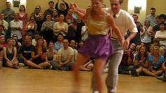 Camp Jitterbug 2010 Lindy Hop Couples Finals, via YouTube.