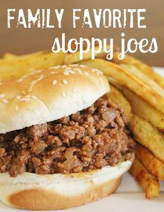 *Don't forget to enter our giveaway for a brand new blog design from VintPrint Design {$95 value} going on here!* I love sloppy joes. I always have and I always will. So, when I came across this recipe, I knew I had to make them for dinner ASAP! The first time I made these, I …