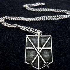 Attack on Titan Cadet Trainee Symbol Necklace by boxinghobo