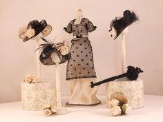 The Little Hatter - VICTORIAN EVENING DRESS