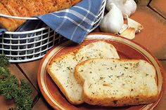 Tomorrow is National Garlic Day! How about some yummy Bridgford Fresh Garlic and Herb Bread?
