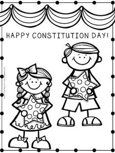 13 Best Kindergarten Constitution Day Images Kindergarten Social