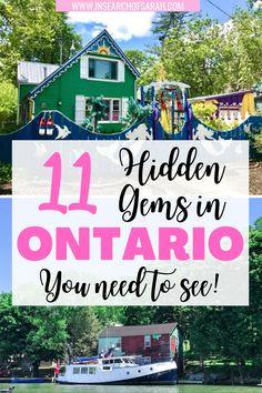 Ontario Camping, Ontario Travel, Alberta Canada, Tobermory Ontario, Places To Travel, Travel Destinations, Canada Vancouver, Hamilton Ontario, Canadian Travel