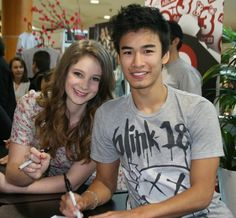 Xenia Goodwin and Jordan Rodrigues for Dance Academy