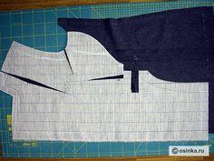 Мастер-класс. Изготовление и монтаж бортовой прокладки мужского пальто бесклеевым способом