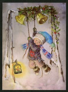 Ringing the bells of Christmas.....Lisi Martin