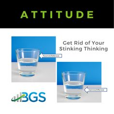 Attitude will have a big impact on how you get through a crisis. So, may sure you focus a positive perspective!