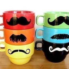 quirky mugs :P rocking the mo