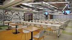 B Place - Centro de Convivência da Basf - Arquitetura integradora