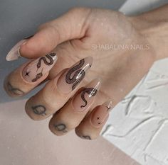 Edgy Nails, Aycrlic Nails, Grunge Nails, Funky Nails, Stylish Nails, Swag Nails, Nail Manicure, Halloween Acrylic Nails, Best Acrylic Nails