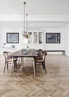 inspiracje w moim mieszkaniu: Parkiet w jodełkę i inne drewniane, podłogi dekoracyjne