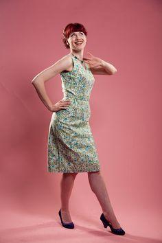 Vintage 1950s Dress Floral Cotton #vintage #summerfashions #dress #1950s @Etsy
