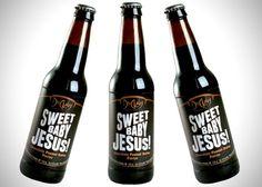 Sweet Baby Jesus Chocolate Peanut Butter Porter Beer