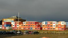 Student housing is at a premium in Amsterdam.  Many students live in shipping containers that have been transformed into comfortable apartments.