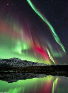 Hgtuva Mountain, Norway.