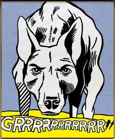 Ilustrações para download - A pop art de Roy Liechtenstein