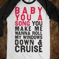 Baby You A Song (Baseball Shirt)