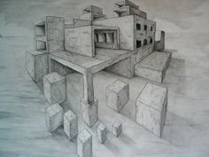 2 Point Perspective building by ~Cow-1 on deviantART