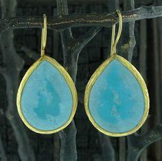 Coralia Leets Turquoise Earrings