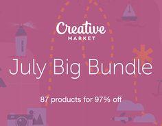"Check out new work on my @Behance portfolio: ""JULY BIG BUNDLE"" http://be.net/gallery/54729541/JULY-BIG-BUNDLE"