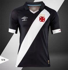 Camisas do Vasco 2015-2016 Umbro Titular Rio 450 anos